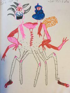 Sketchbook 9b: Making a Monster