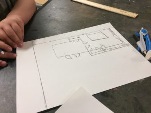 Starting the floor plan