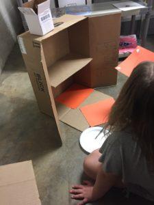 Starting the floors