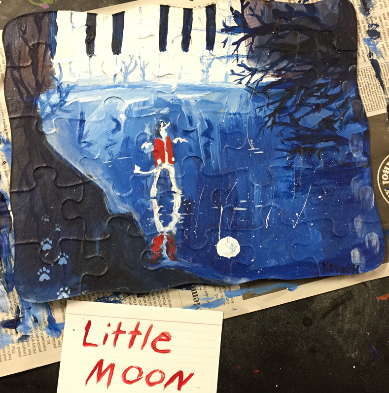 Little Moon, Student's Piece