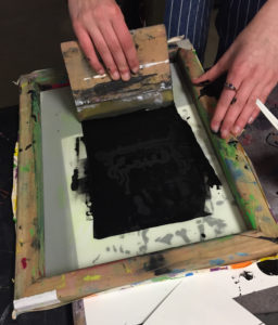 Applying Ink to the Screen
